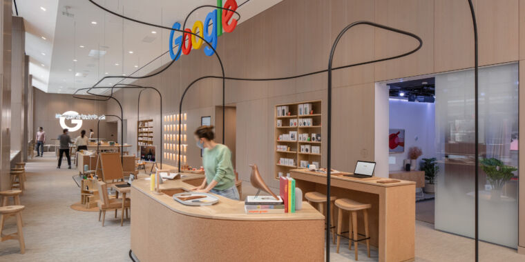 Here's what's inside Google's first-ever retail store