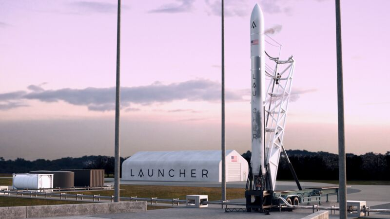 Launcher is targeting 2024 for the launch of its Launcher Light vehicle, shown here in a rendering.
