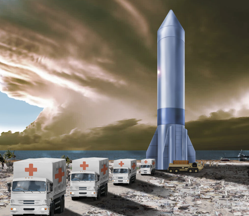 Technology Concept design for Air Force Rocket Cargo program.