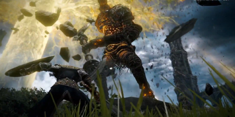 photo of Elden Ring shows off first gameplay footage, confirmed for Jan. 2022 image