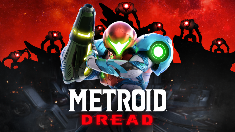Promotional image for video game Metroid Dread.