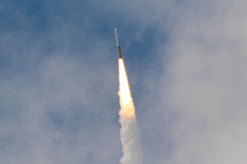 Technology A Minotaur rocket launches the NROL-111 mission on Tuesday.