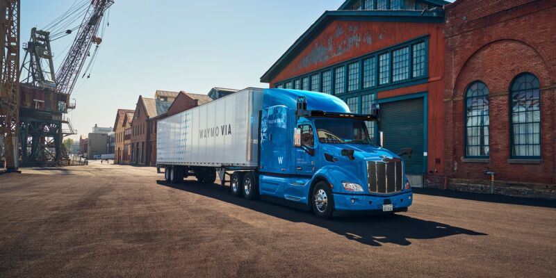 Will Waymo's autonomous truck honk its horn for little kids on the freeway?