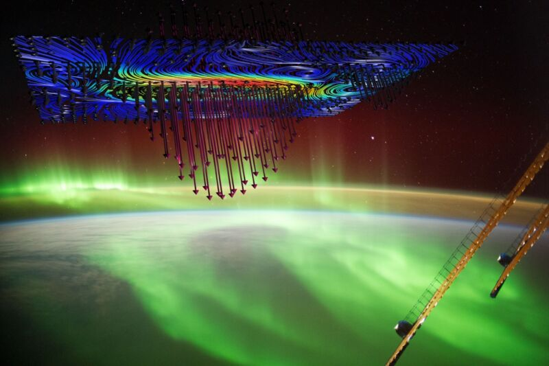 Physicists report definitive evidence that auroras that light up the sky in the high latitudes are caused by electrons accelerated by a powerful electromagnetic force called Alfvén waves.