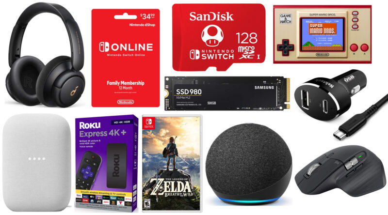 Nintendo deal: Buy a Switch Online Family Membership, get a free 128GB microSD card