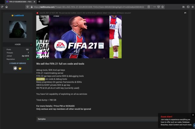 fifa21 source code