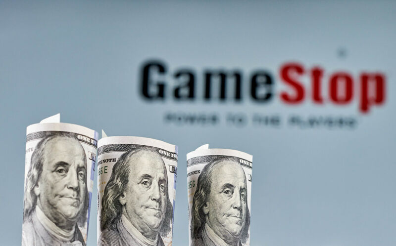 Benjamin Franklin continues to be bemused by the seemingly irrational movements of GameStop's stock price.
