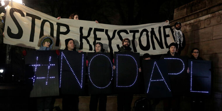 Keystone XL pipeline canceled after Biden scraps US permit