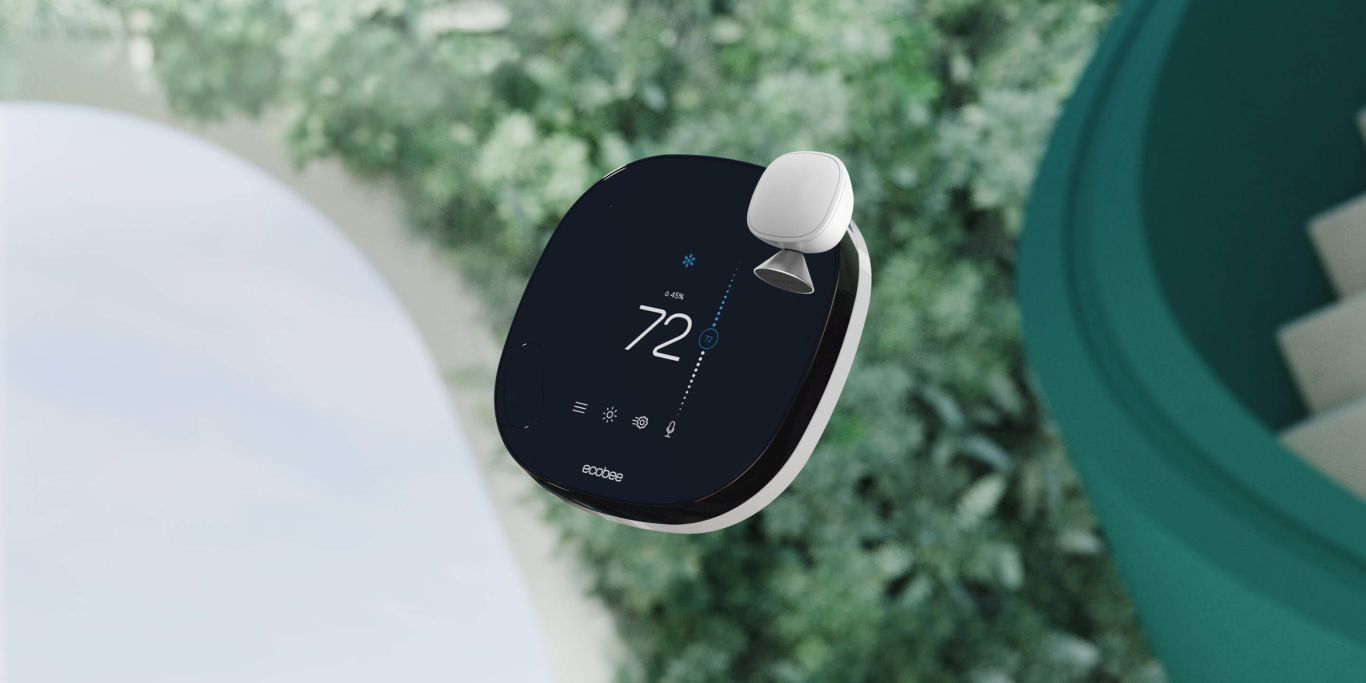 Ecobee's SmartThermostat with Voice Control.