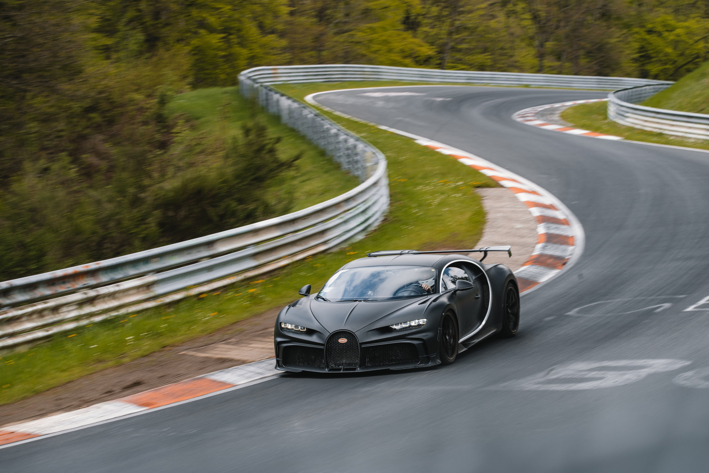 Bugatti did plenty of development work on the Chiron Pur Sport at the Nürburgring.