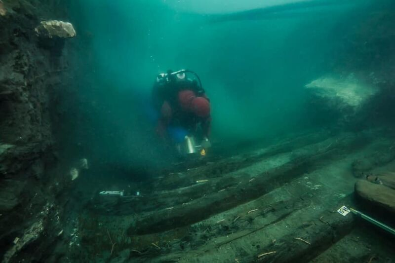 Archaeologists find ancient Egyptian warship sunk near Alexandria