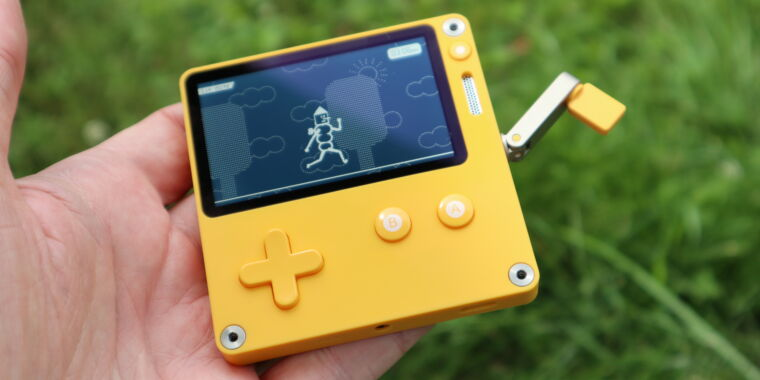Playdate preview: You won't believe how fun this dorky, $179 game system is