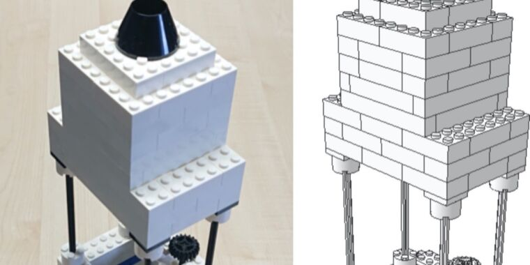 German scientists built a high-resolution microscope out of Lego bricks