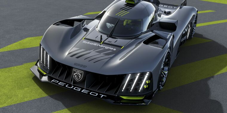 Peugeot plans to win Le Mans in 2022 with this 9X8 hybrid prototype