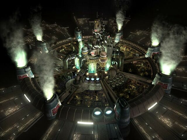 The people on Midgar's top levels don't even have to see those suffering below. Sound familiar?