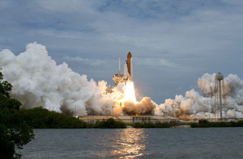 Space shuttle <em>Atlantis</em> launched on Friday, July 8, 2011, at NASA's Kennedy Space Center. This was the final launch of the space shuttle program.