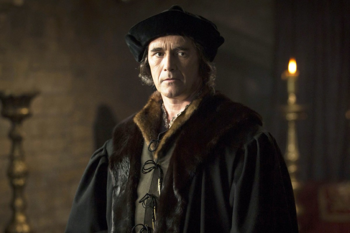 Mark Rylance plays a brooding Thomas Cromwell in the BBC Two adaptation of Hilary Mantel's novel <em>Wolf Hall</em>, first of a trilogy.