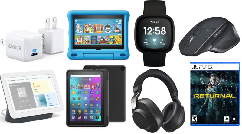 A few of the gadgets on sale in today's Dealmaster.