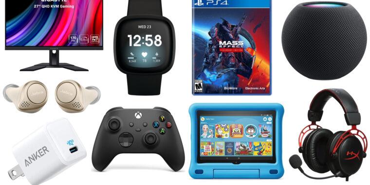 The weekend's best tech deals: Mass Effect, Jabra wireless earbuds, and more