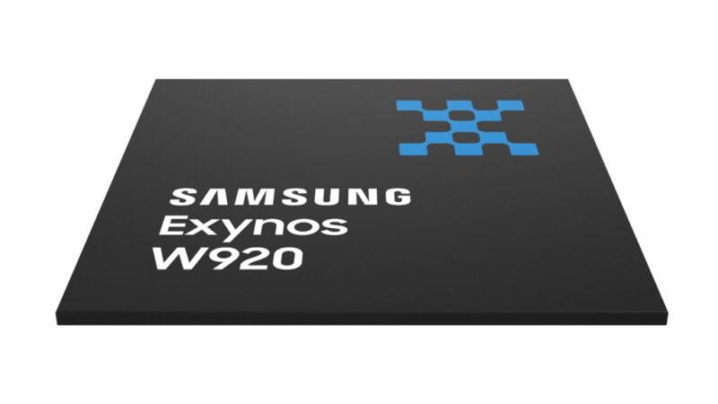 Samsung's 5 nm Exynos W920.