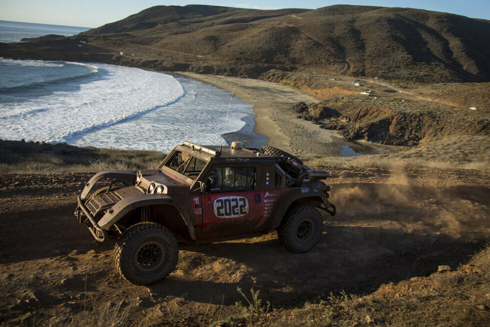 Technology SCG has already proven the Boot off-road truck in the Baja 1000 race, winning its class more than once. But for 2022's event, the company plans to compete with a fuel cell EV version of the Boot.