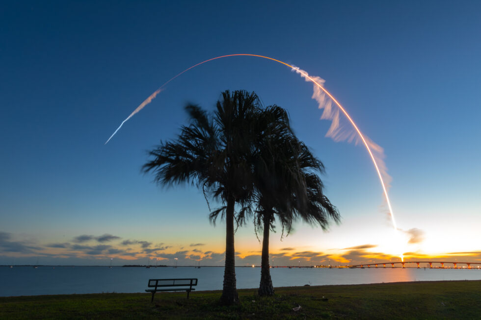 An Atlas V rocket launches Boeing's Starliner capsule on its first orbital flight test, in December 2019.