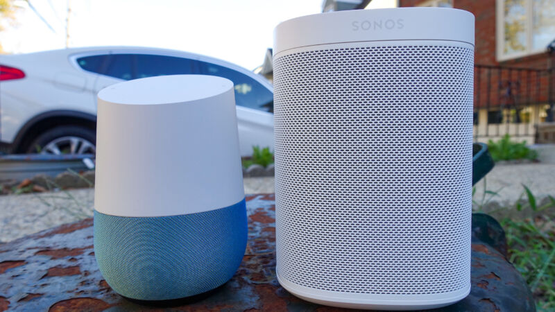 Sonos says the Google Home stole its technology.