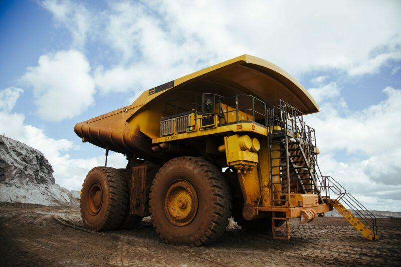 Technology A Komatsu 930E mining truck at an Anglo American mine