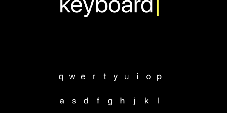 An iPhone keyboard for blind users will be discontinued, according to the app's developer, who alleges that