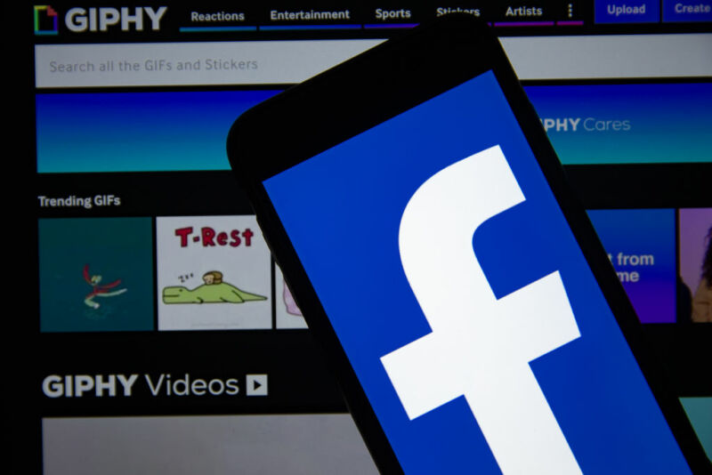 The CMA said Facebook could deny other platforms access to GIFs because of the tie-up.