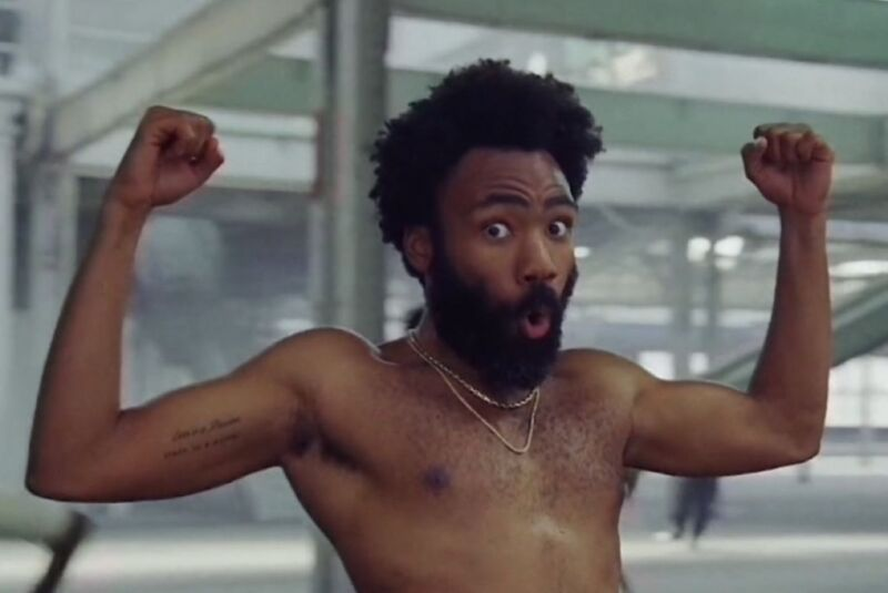 """A study of """"harmonic surprise""""—points where the music deviates from listener expectations—in popular music over several decades found that Childish Gambino's """"This Is America"""" had the most contrastive harmonic surprise."""