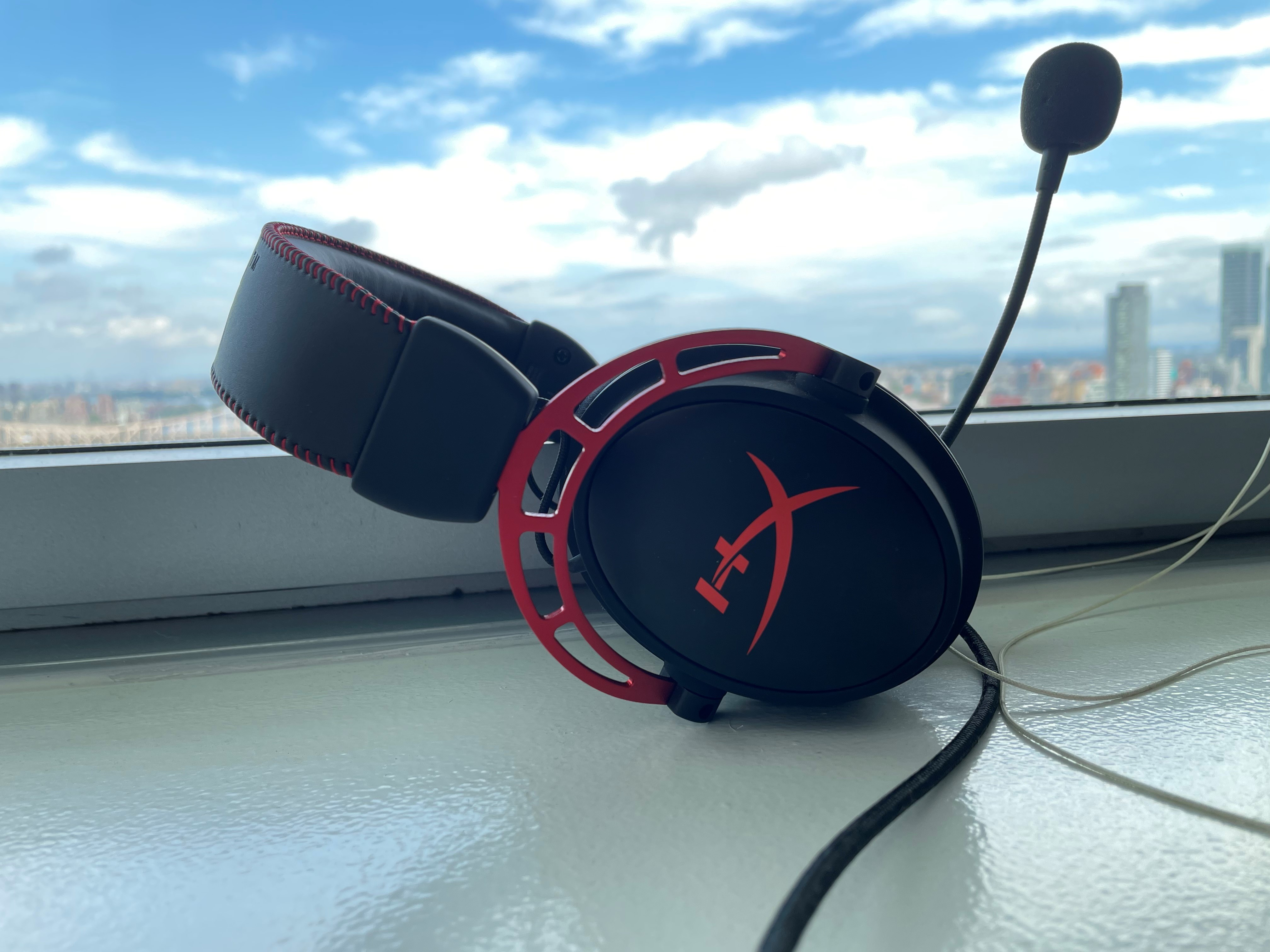 The HyperX Cloud Alpha is a comfortable and fairly balanced sounding gaming headset for less than $100, with a good detachable mic to boot.