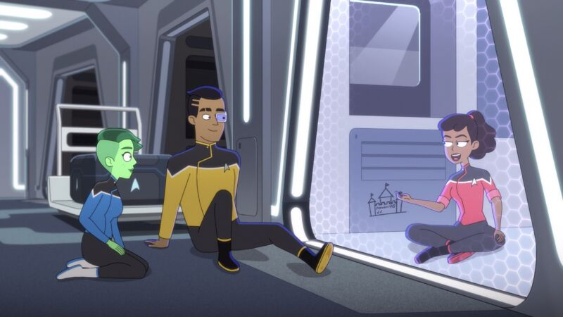 <em>Star Trek: Lower Decks</em> is back for more low-stakes fun in its second season.