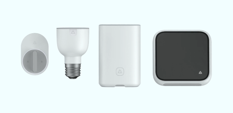 Renders of products that would use the Matter smart home standard.