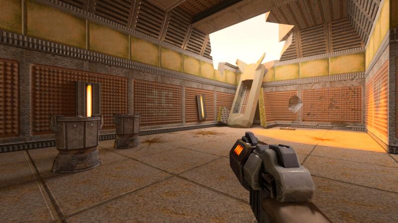 """We wonder how the """"revitalized"""" <em>Quake</em> will compare to this 2019 raytracing update of <em>Quake II</em>."""