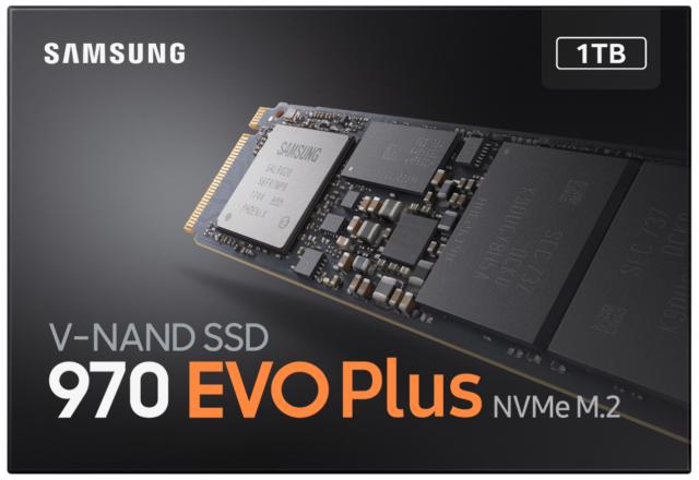 Ironia della sorte, la pagina del negozio Samsung per il 970 Evo Plus mostra chiaramente il controller Phoenix mancante.
