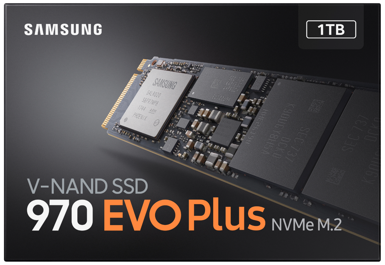 Ironically, Samsung's own store page for the 970 Evo Plus clearly displays the missing Phoenix controller.