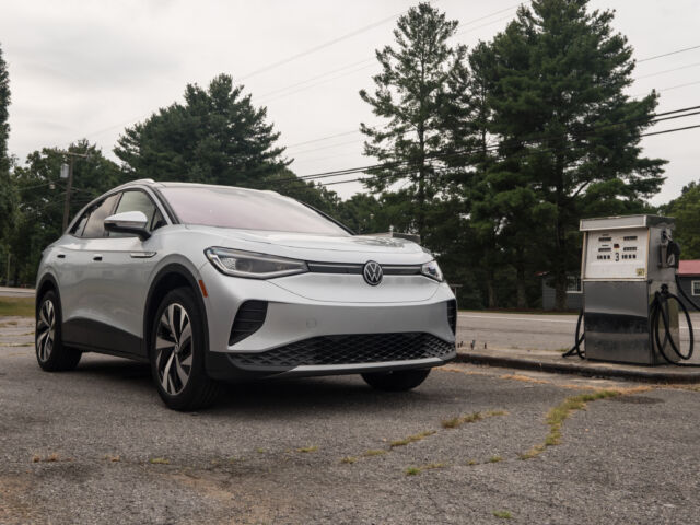 Volkswagen's electric ID.4 was already good—does AWD change that?