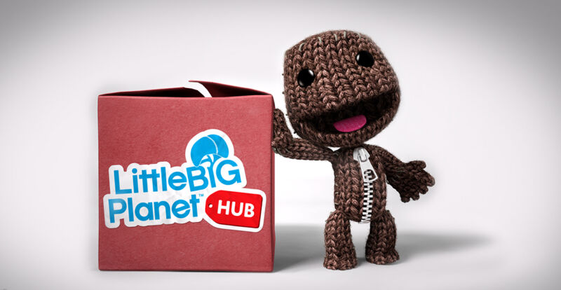 Cute promotional image for Little Big Planet.