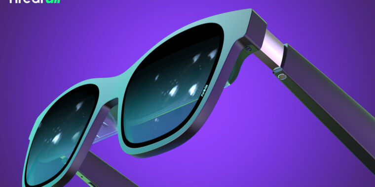 Nreal Air AR specs bring TV to your sunglasses