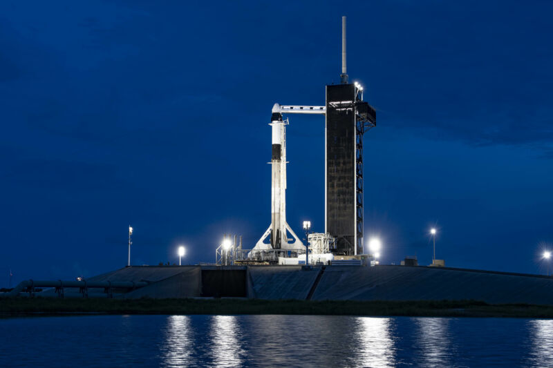 Crew Dragon and its Falcon 9 rocket are ready to go for the Inspiration4 mission.