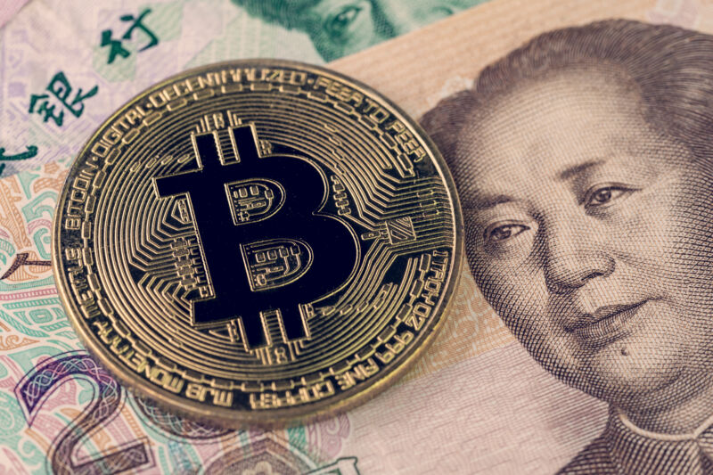 China has cracked down on bitcoin and other cryptocurrencies in a bid to limit capital outflows.