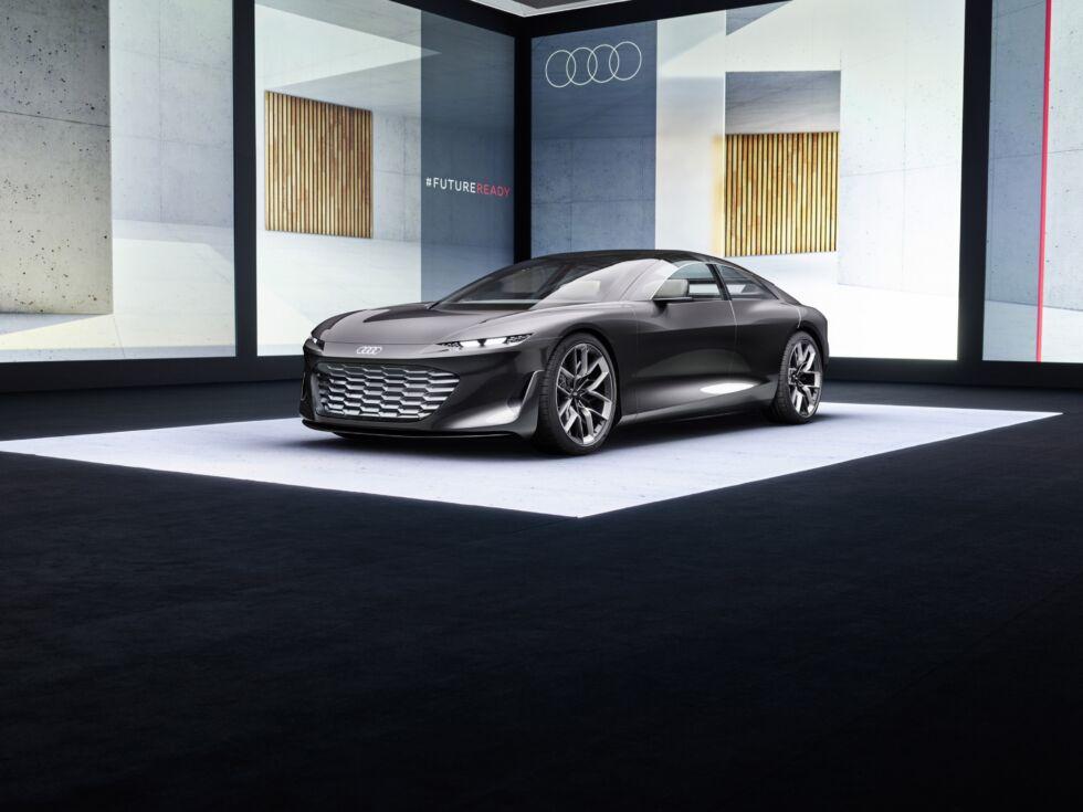 Audi subverts the luxury sedan with new grandsphere concept
