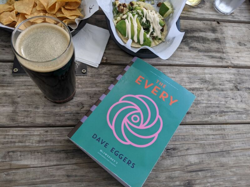 A book so enjoyable, it even stands out when surrounded by tacos and Texas libations.