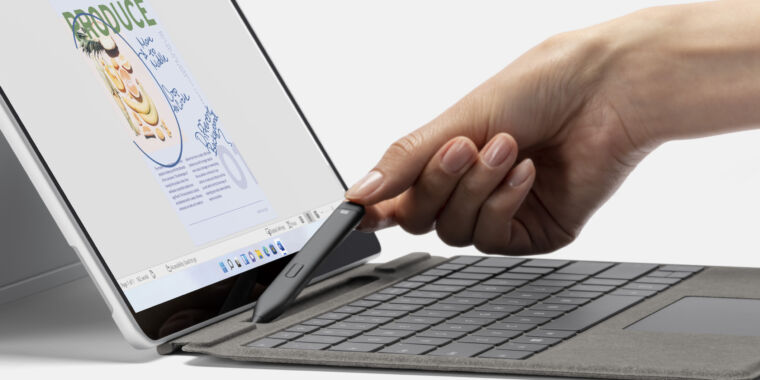 Larger-screened Surface Pro 8 gets its biggest redesign since the Surface Pro 3