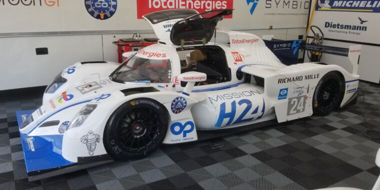 How the Le Mans hydrogen racer is shaping up