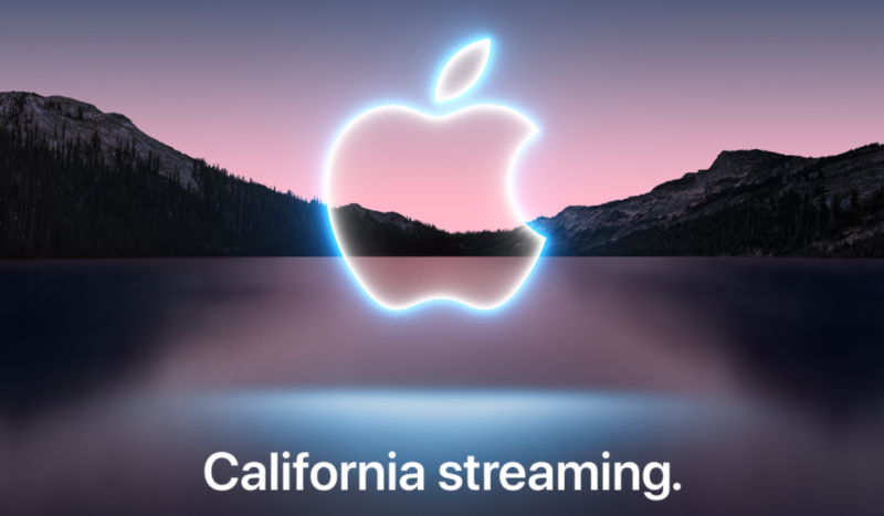 The splash image and header copy on the event invitation Apple emailed to press.