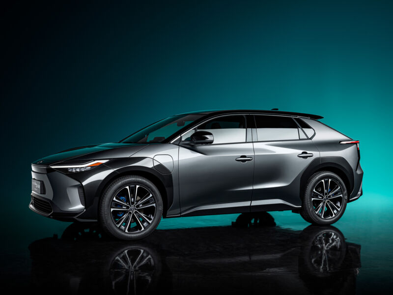 Toyota's first modern battery EV will be the bZ4x, due in 2022.