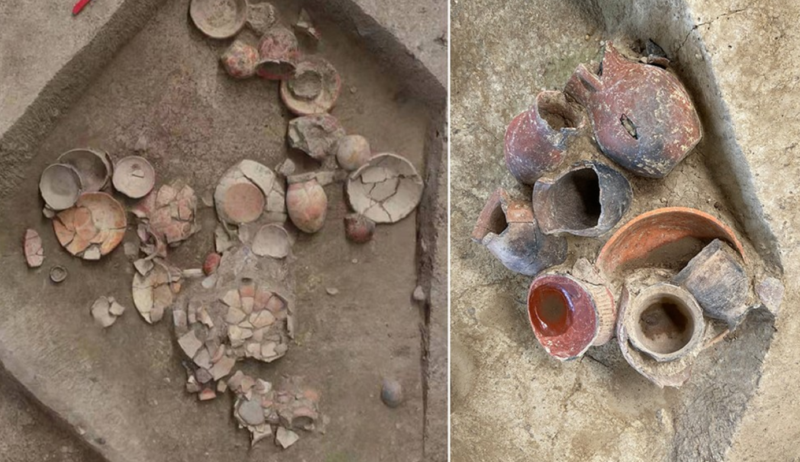 9,000 years ago, funerals in China involved a lot of beer