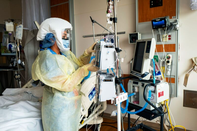 As COVID cases rise, so do hospital-related infections